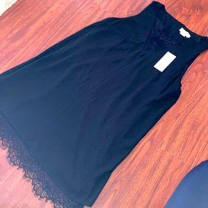 BNWT Molly Bracken black dress with lace size XL